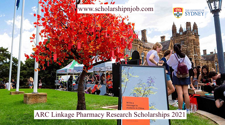 Fully Funded ARC Linkage Pharmacy Research Scholarships - University of Sydney, Australia