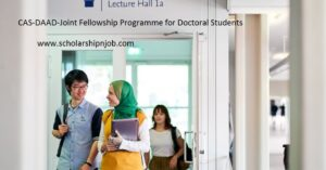 Fully Funded CAS-DAAD-Programme / Joint Fellowship Programme for Doctoral Students of CAS - Germany