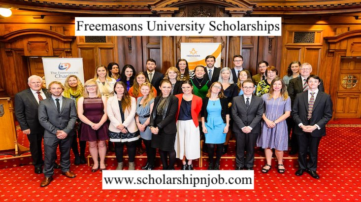 Partially Funded Freemasons University Scholarships 2021 - New Zealand