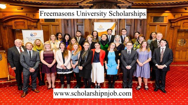 Partially Funded Freemasons University Scholarships 2021 - New Zealand