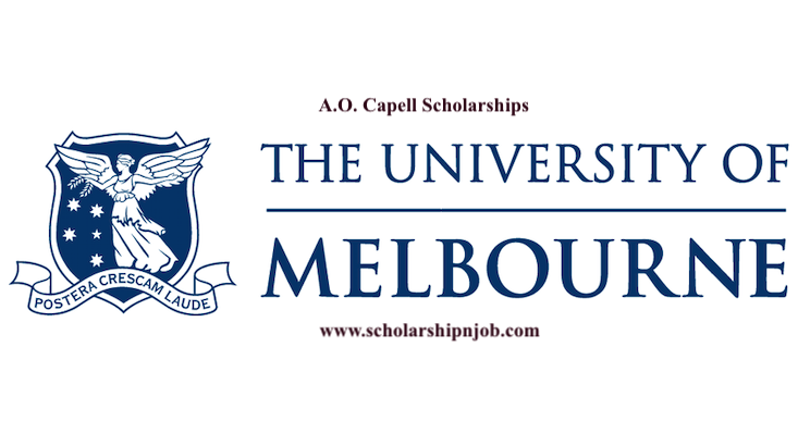 Fully Funded A.O. Capell Scholarships – Australia
