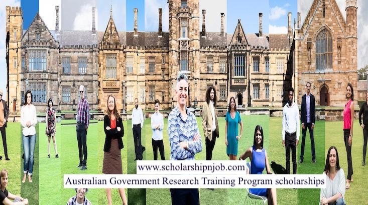 Fully Funded Australian Government Research Training Program Scholarships - University of Sydney, Australia
