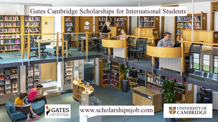 Fully Funded Gates Cambridge Scholarships for International Students - United Kingdom