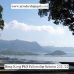 Fully Funded Hong Kong PhD Fellowship Scheme 2021/22