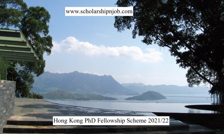 Fully Funded Hong Kong PhD Fellowship Scheme 2021/22