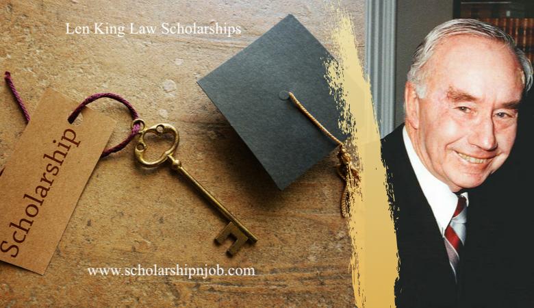 Len King Undergraduate Law Scholarships - University of Adelaide or Flinders University, Australia