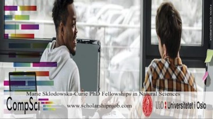 Fully Funded Marie Sklodowska-Curie PhD Fellowships in Natural Sciences - Norway