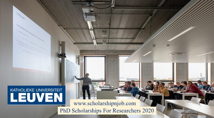 Fully Funded PhD Scholarships For Researchers 2021 - Belgium