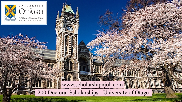 Fully Funded 200 University of Otago Doctoral Scholarships - New Zealand