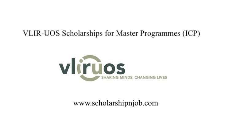 Fully Funded VLIR-UOS Scholarships for Master Programmes (ICP) - Belgium