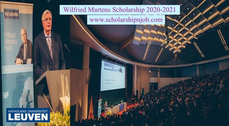 Fully Funded Wilfried Martens Scholarships - Ku Leuven, Belgium